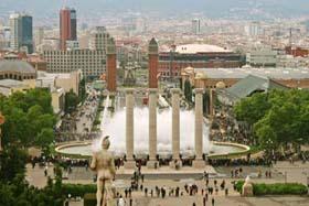 Ruta Montjuic Barcelona